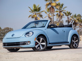 Pictures of Volkswagen Beetle Cabrio 60s Edition 2012