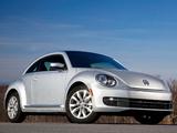 Pictures of Volkswagen Beetle TDi US-spec 2012