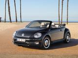 Pictures of Volkswagen Beetle Cabrio 50s Edition 2012