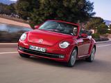 Pictures of Volkswagen Beetle Cabrio 2012