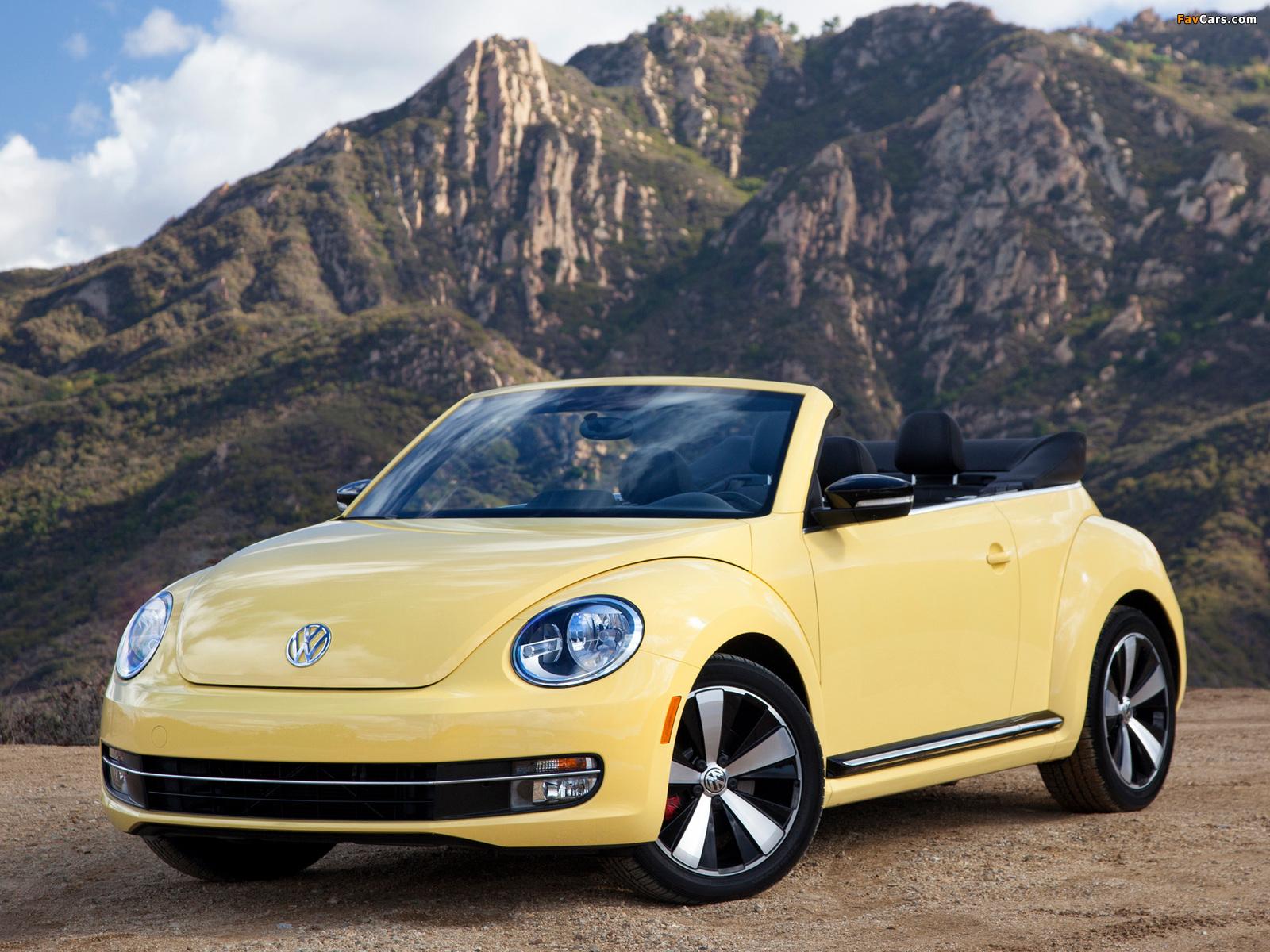 Pictures of Volkswagen Beetle Convertible 2012 (1600 x 1200)
