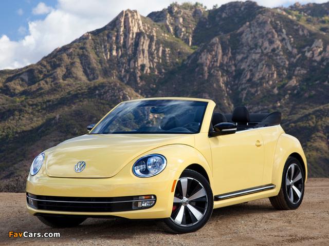 Pictures of Volkswagen Beetle Convertible 2012 (640 x 480)