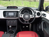 Pictures of Volkswagen Beetle Cabrio 60s Edition UK-spec 2013