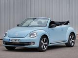 Pictures of Volkswagen Beetle Cabrio UK-spec 2013
