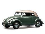 Volkswagen Beetle Convertible 1953–57 pictures