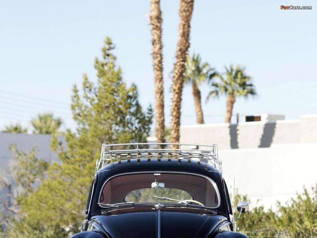 Volkswagen Beetle North America 1954 images (1024 x 768)