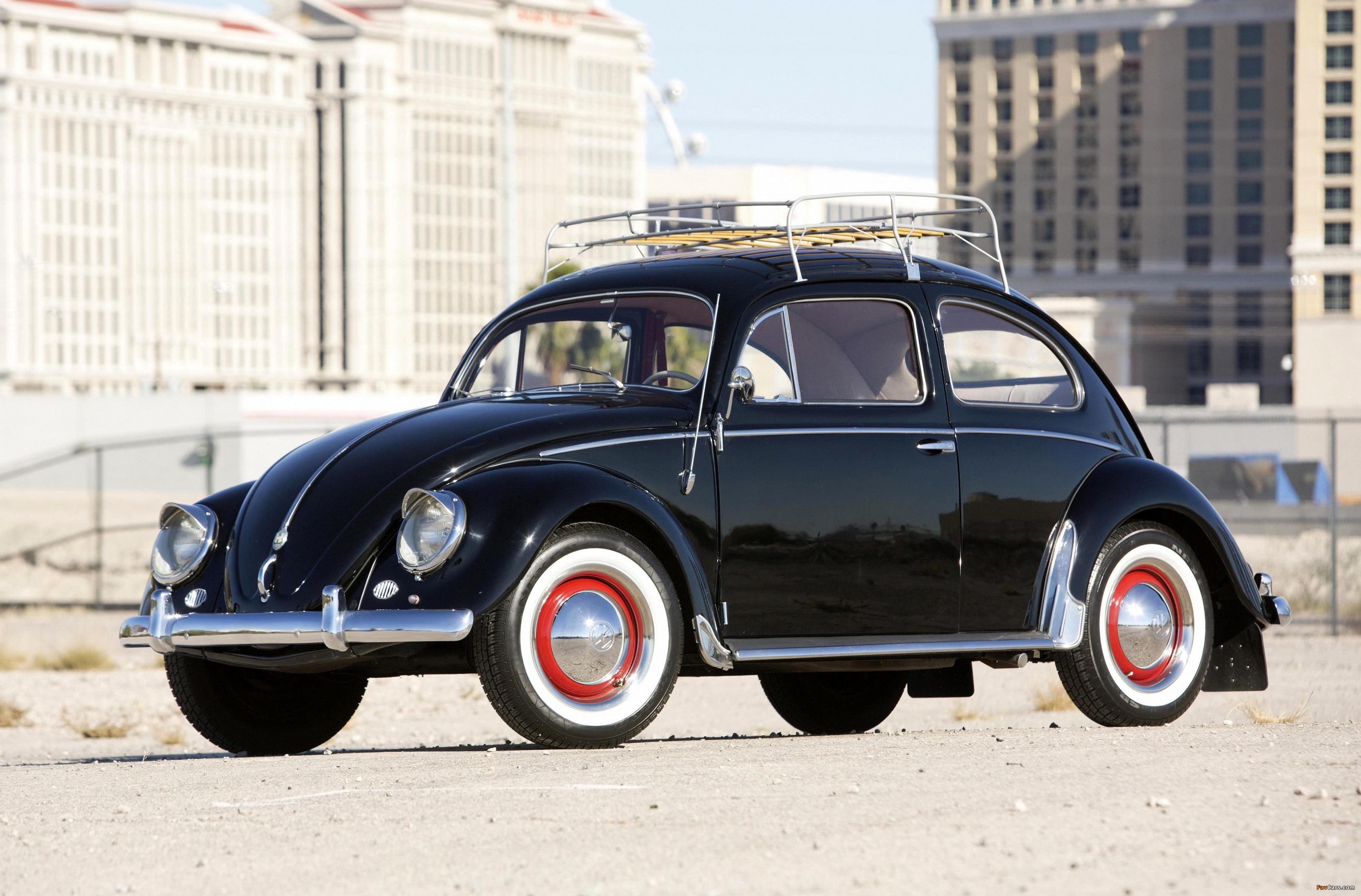 Volkswagen Beetle North America 1954 pictures (3600 x 2370)