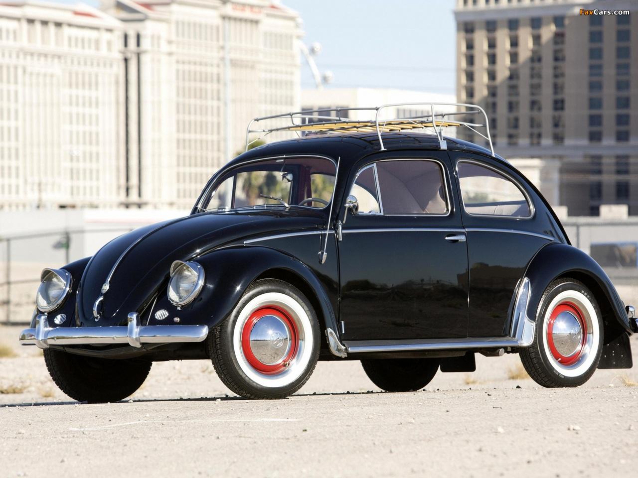 Volkswagen Beetle North America 1954 pictures (1280 x 960)
