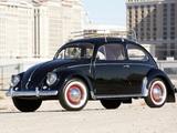 Volkswagen Beetle North America 1954 pictures