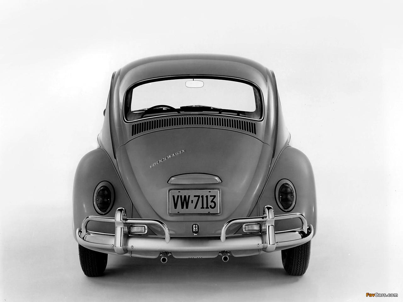 Volkswagen Beetle 1962–68 images (1280 x 960)