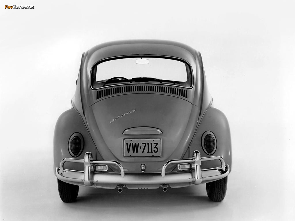 Volkswagen Beetle 1962–68 images (1024 x 768)