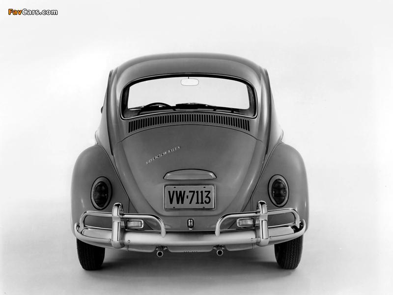 Volkswagen Beetle 1962–68 images (800 x 600)