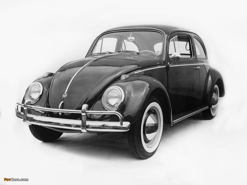 Volkswagen Beetle 1962–68 pictures (1024 x 768)