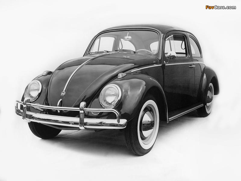 Volkswagen Beetle 1962–68 pictures (800 x 600)