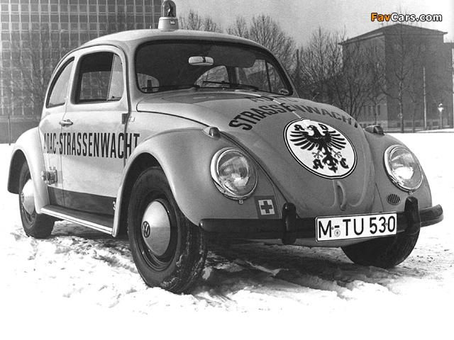 Volkswagen Käfer Strassenwacht 1963 photos (640 x 480)
