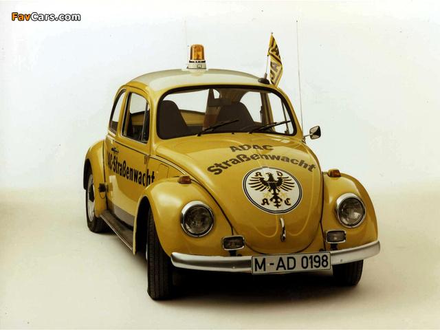 Volkswagen Käfer Strassenwacht 1963 wallpapers (640 x 480)