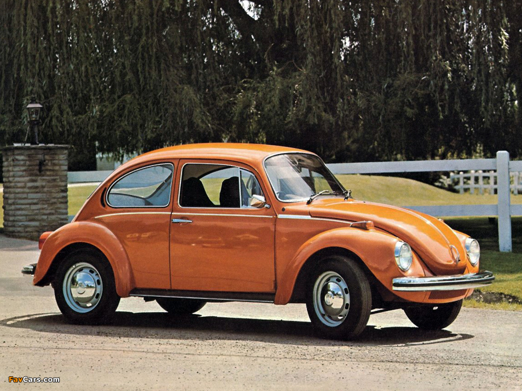 Volkswagen Beetle Uk Spec 1970 Wallpapers 1024x768