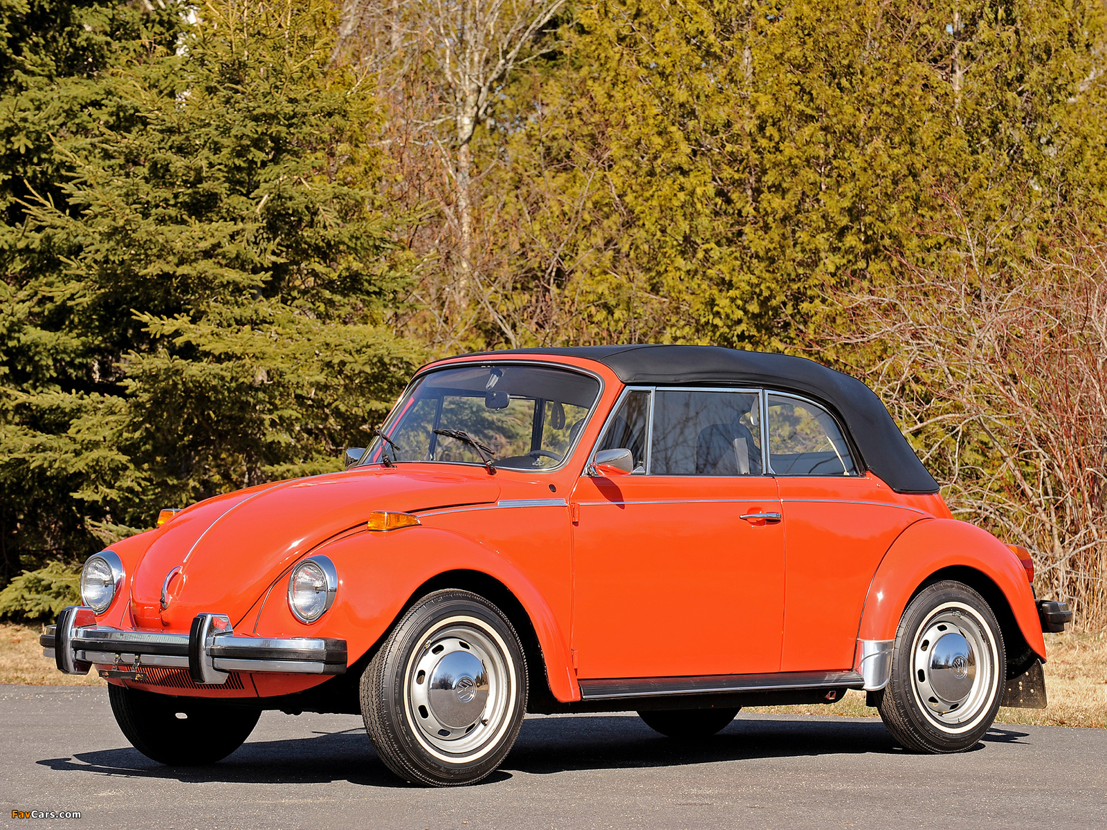 Volkswagen Beetle Convertible 1972 Photos 1600x1200