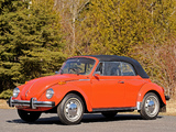 Volkswagen Beetle Convertible 1972 photos