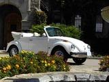 Volkswagen Beetle Convertible Bicentennial 1976 images