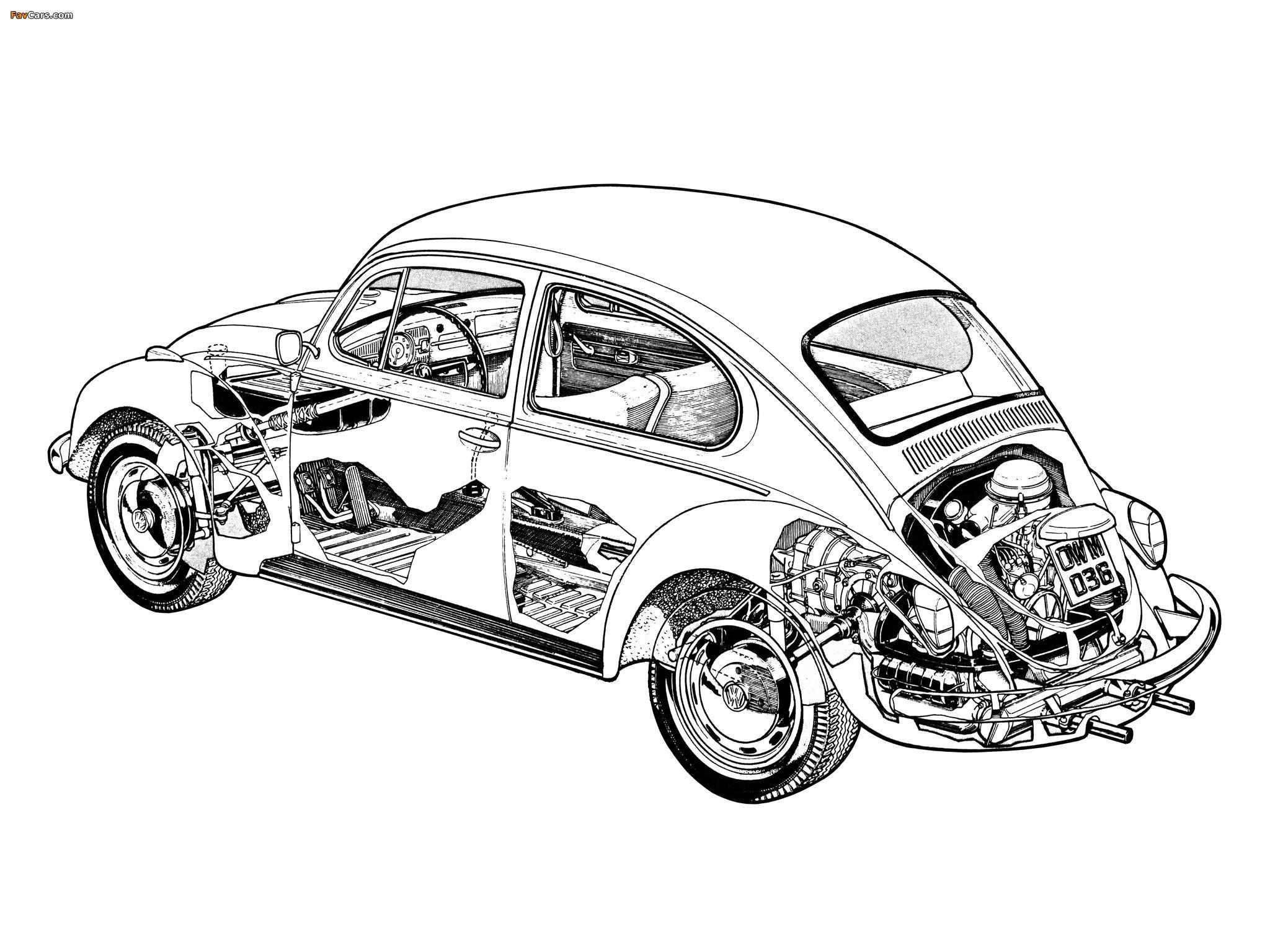 Volkswagen Beetle 1976 photos (2048 x 1536)