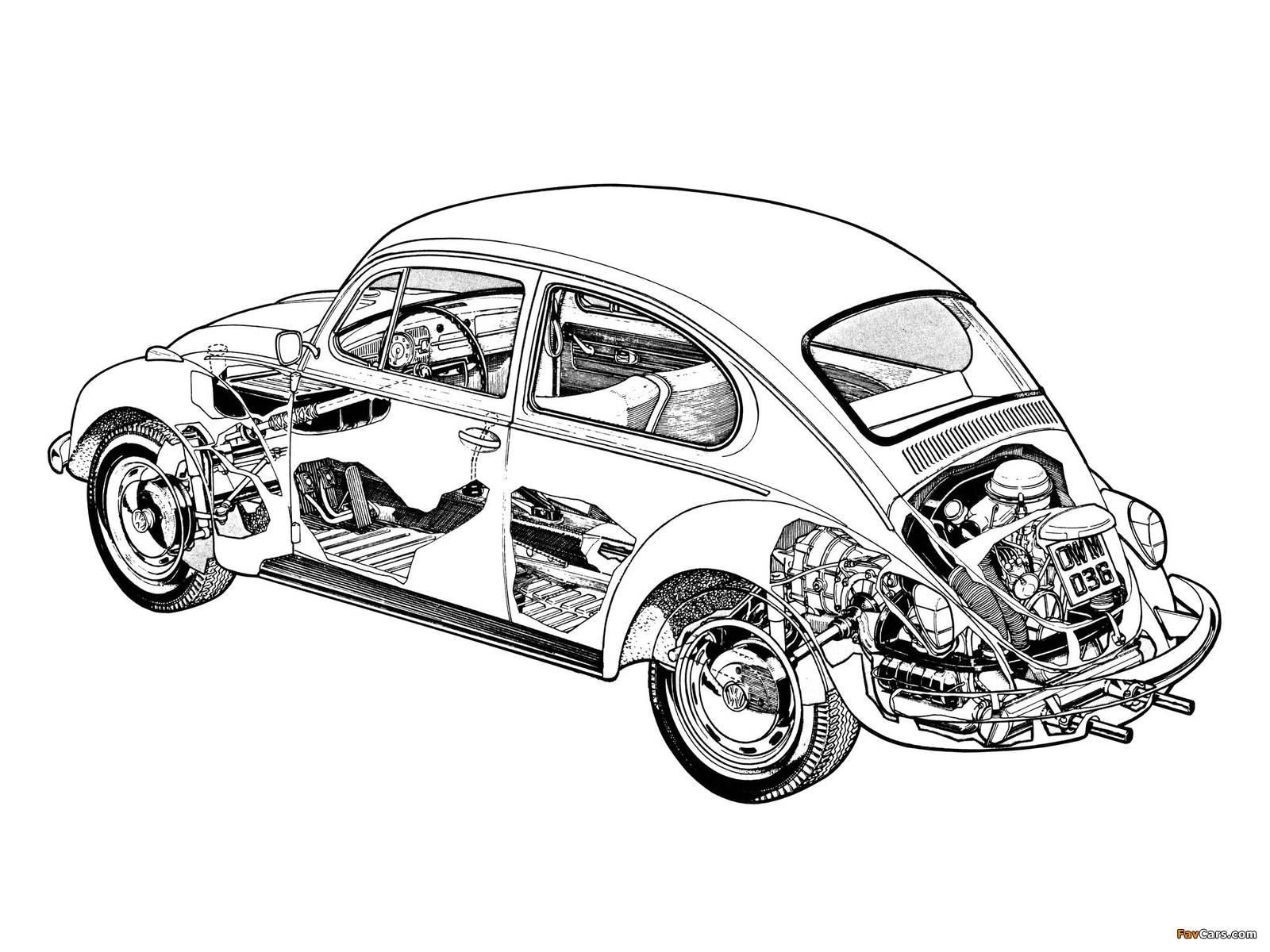 Volkswagen Beetle 1976 photos (1600 x 1200)