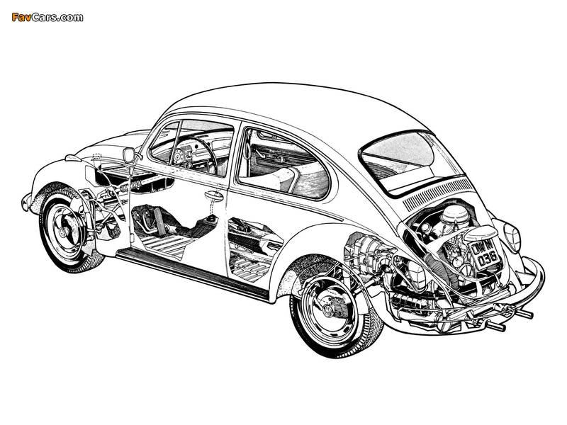 Volkswagen Beetle 1976 photos (800 x 600)