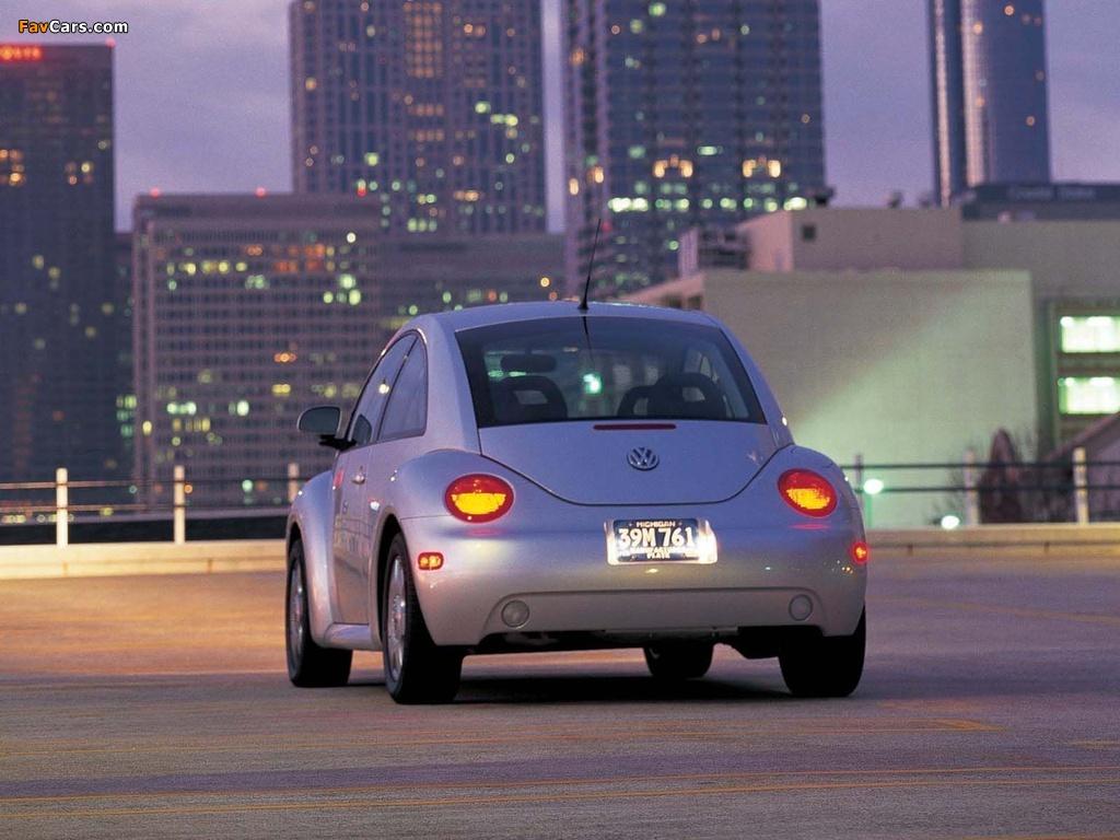 Volkswagen New Beetle US-spec 1998–2005 photos (1024 x 768)