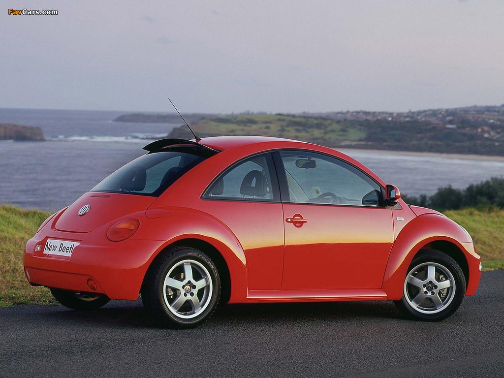 Volkswagen New Beetle AU-spec 1998–2005 pictures (1024 x 768)