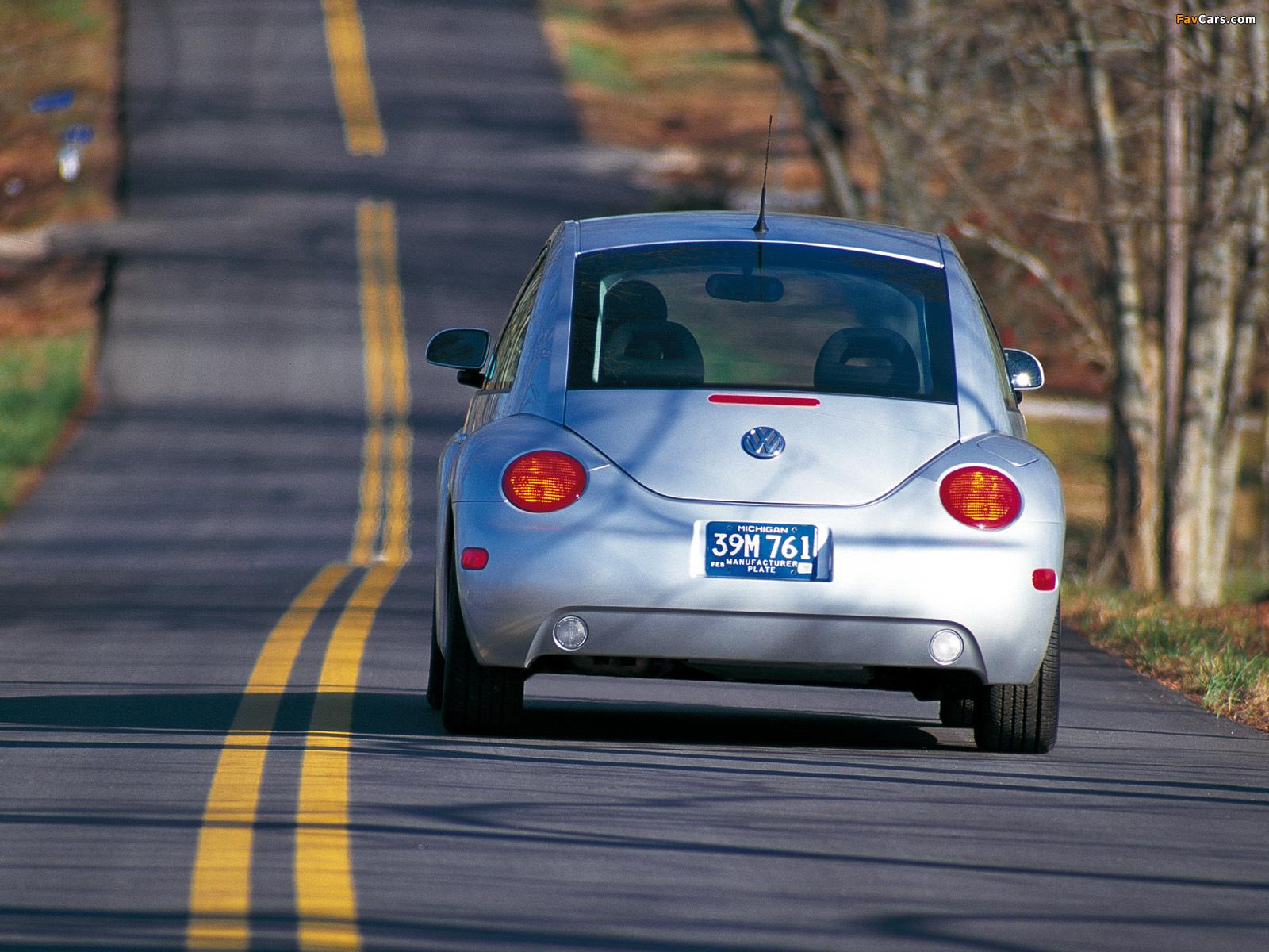 Volkswagen New Beetle US-spec 1998–2005 pictures (1600 x 1200)