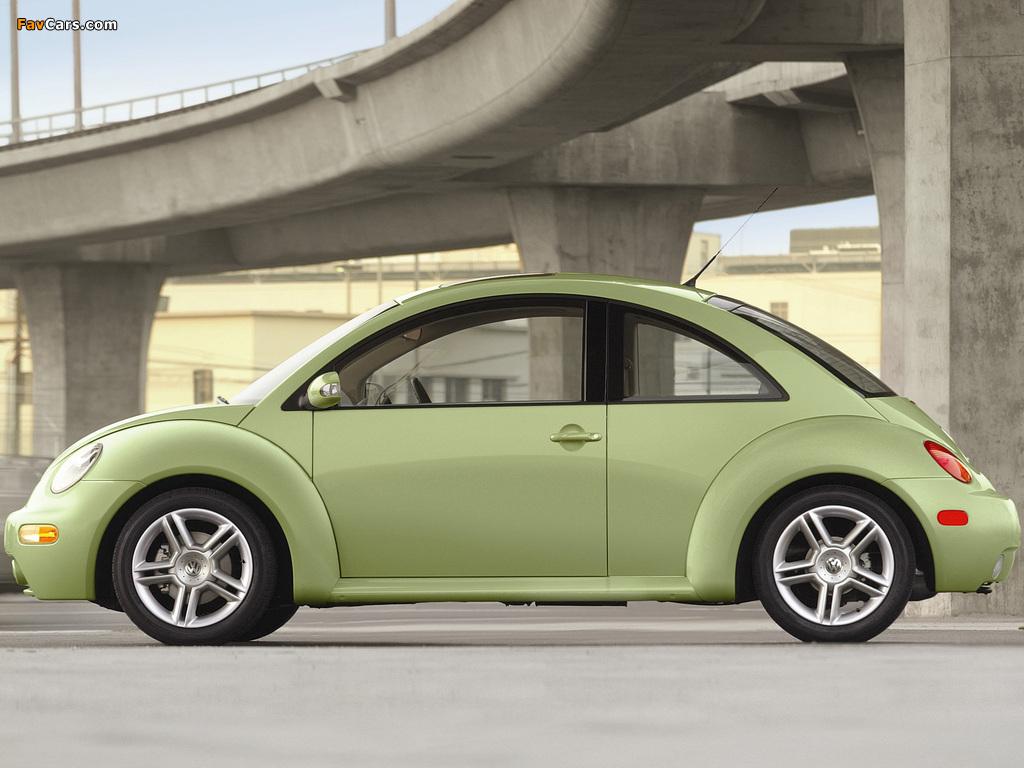 Volkswagen New Beetle US-spec 1998–2005 wallpapers (1024 x 768)