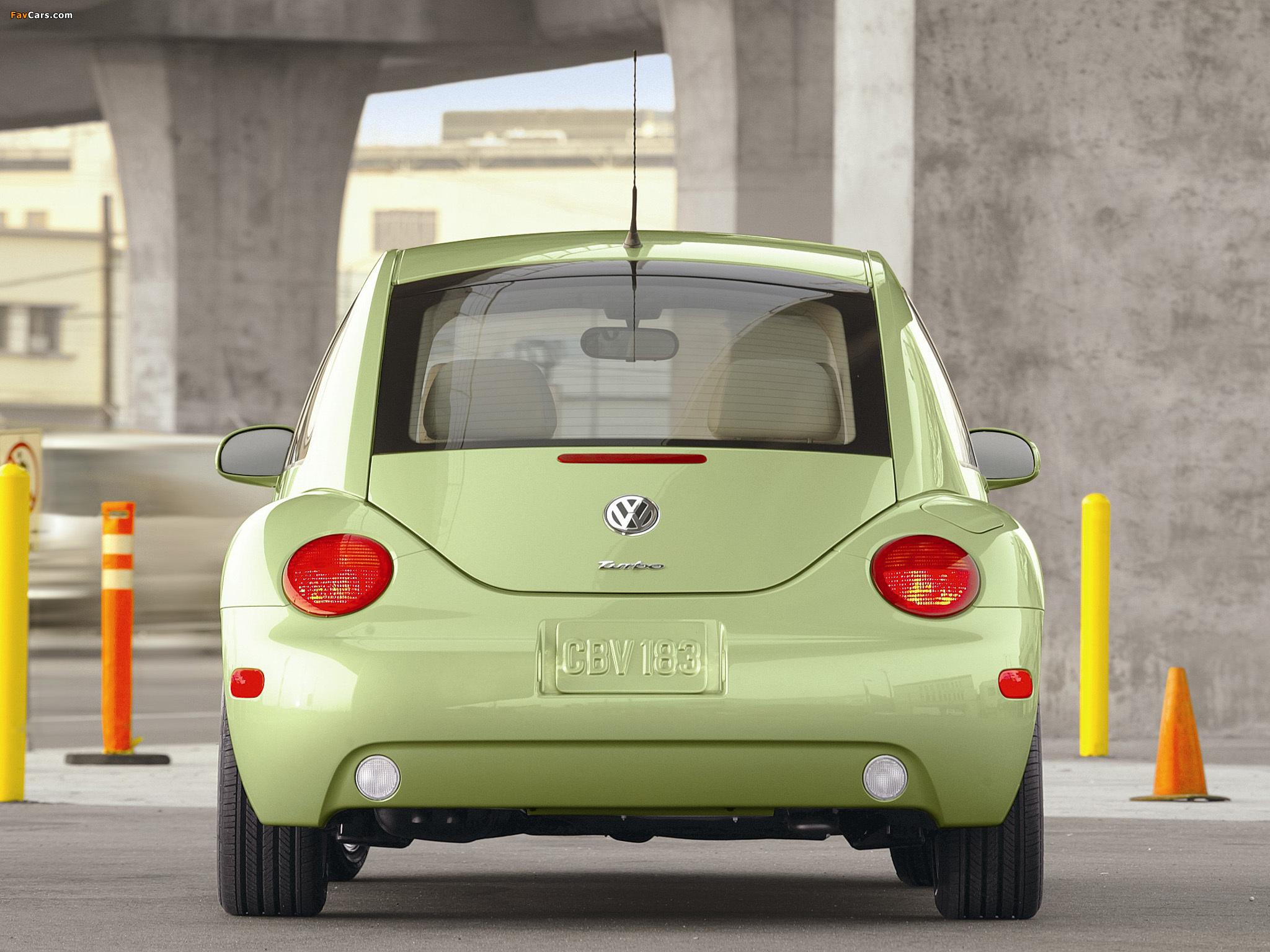 Volkswagen New Beetle US-spec 1998–2005 wallpapers (2048 x 1536)