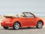 Volkswagen New Beetle Convertible 2000–05 images