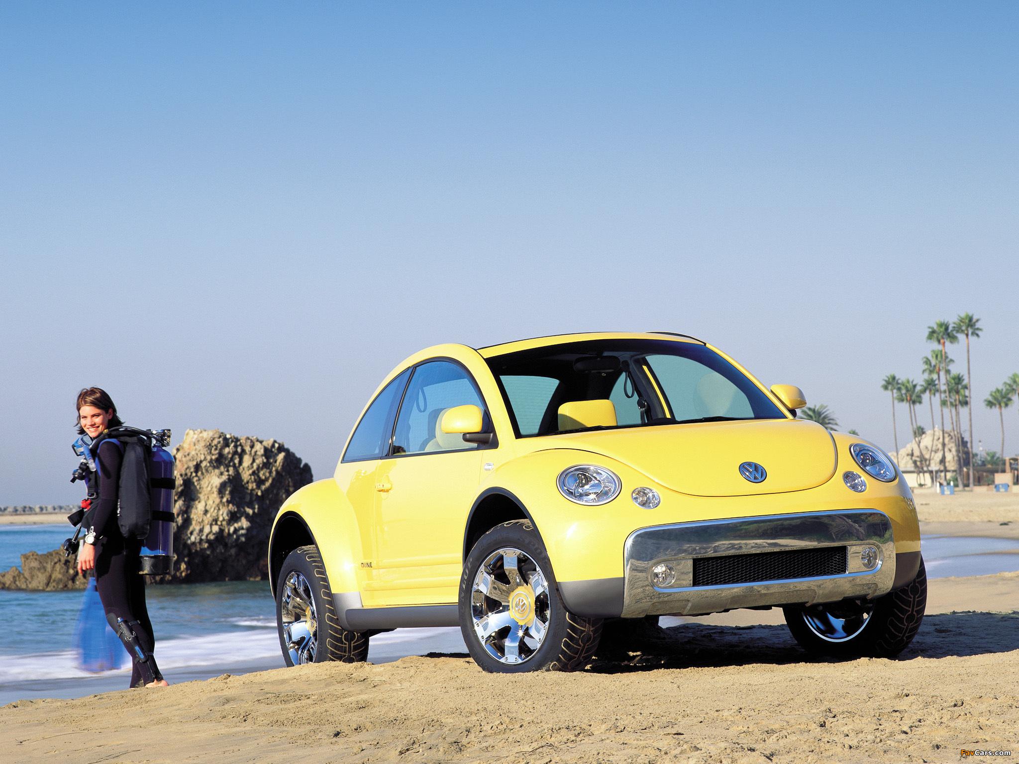 Volkswagen New Beetle Dune Concept 2000 images (2048 x 1536)