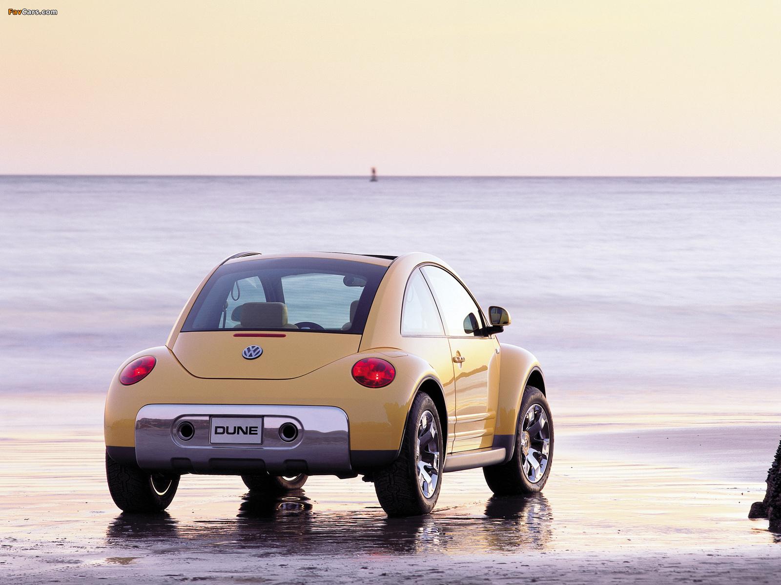 Volkswagen New Beetle Dune Concept 2000 images (1600 x 1200)