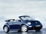 Volkswagen New Beetle Cabrio 2000–05 images