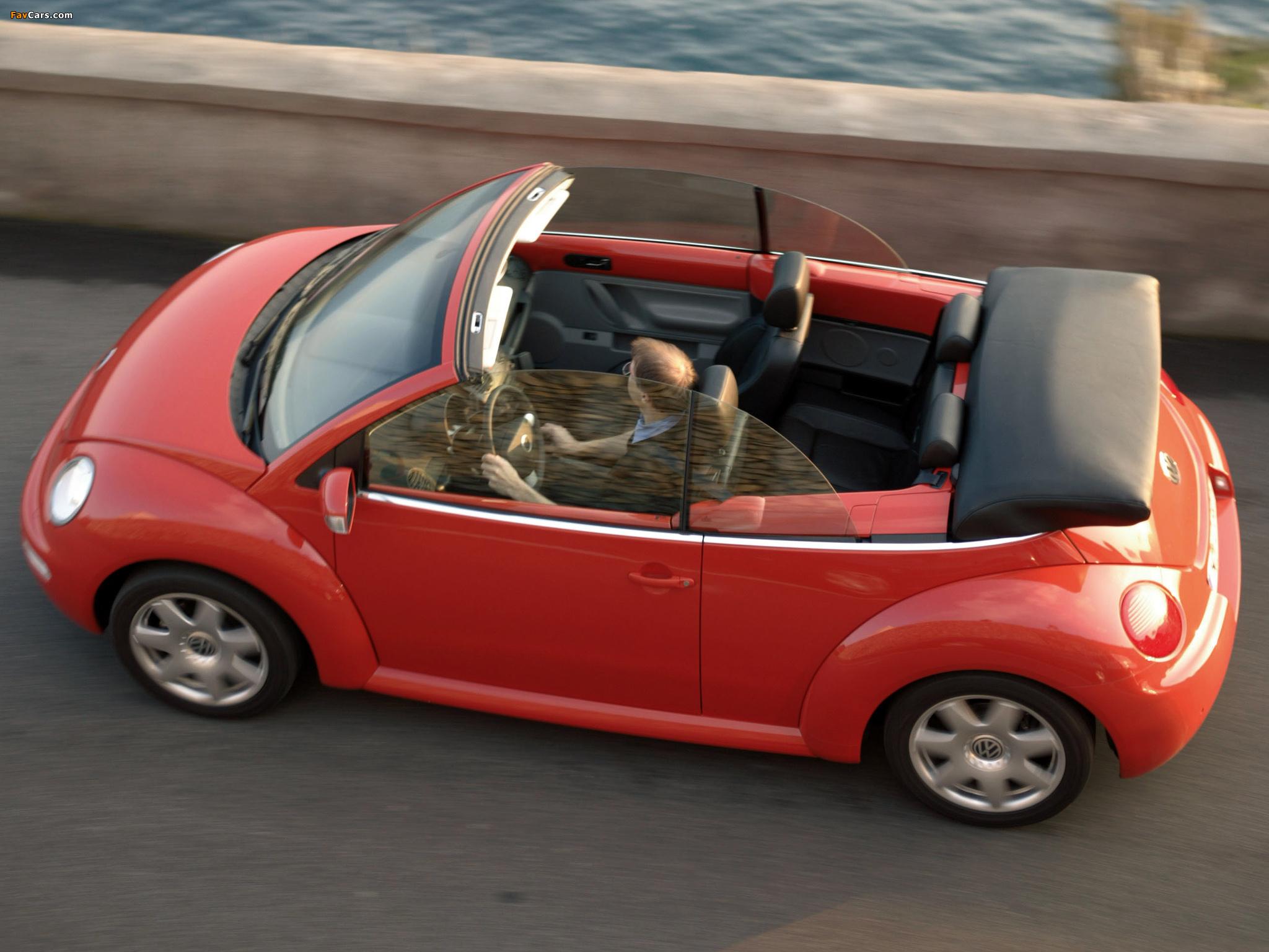 Volkswagen New Beetle Cabrio 2000–05 images (2048 x 1536)