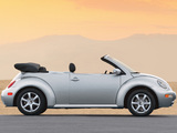 Volkswagen New Beetle Convertible 2000–05 photos