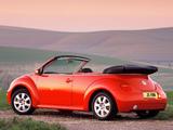 Volkswagen New Beetle Cabrio UK-spec 2000–05 pictures