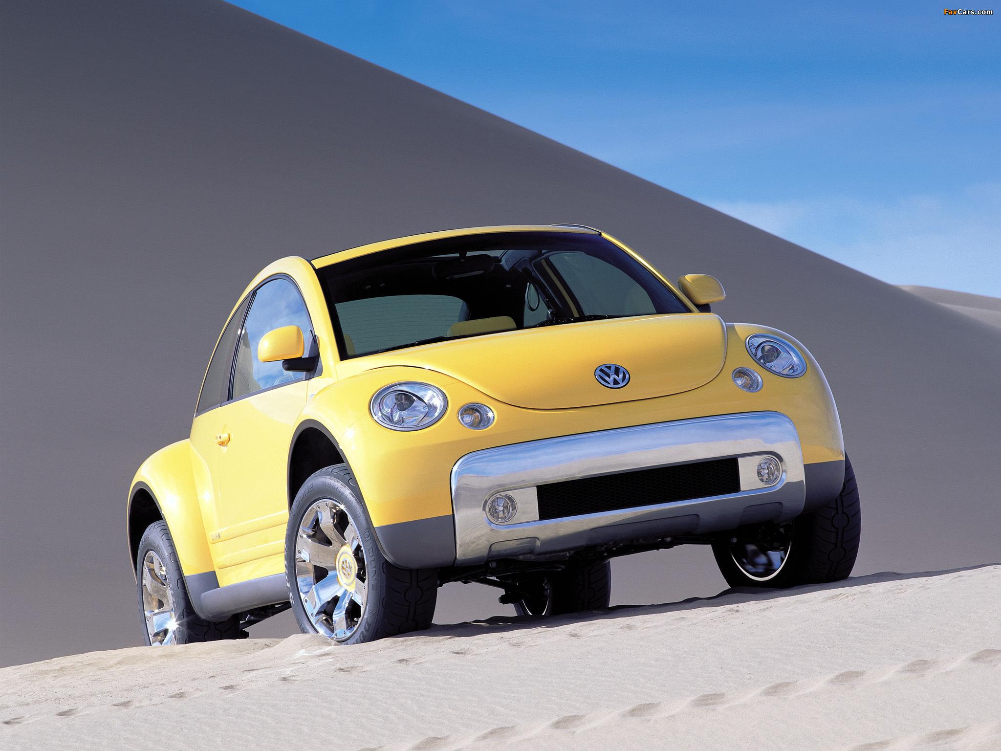 Volkswagen New Beetle Dune Concept 2000 pictures (2048 x 1536)