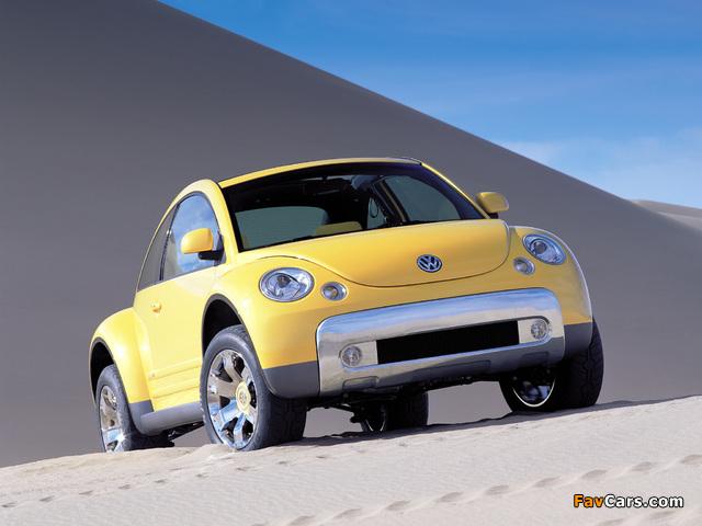 Volkswagen New Beetle Dune Concept 2000 pictures (640 x 480)