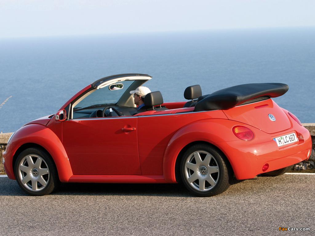 Volkswagen New Beetle Cabrio 2000 05 Pictures 1024x768