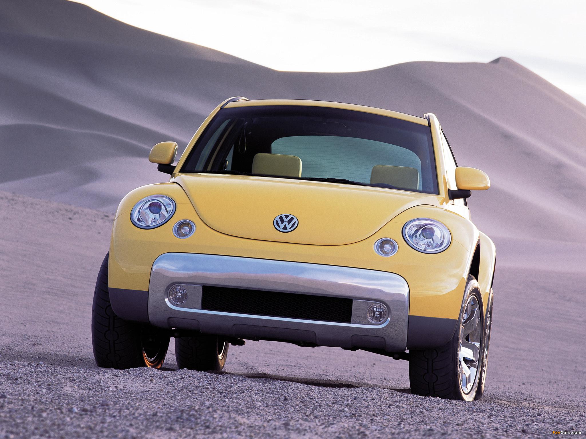 Volkswagen New Beetle Dune Concept 2000 wallpapers (2048 x 1536)