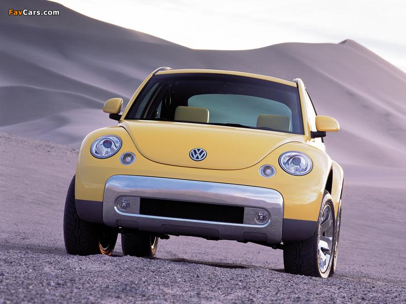 Volkswagen New Beetle Dune Concept 2000 wallpapers (800 x 600)