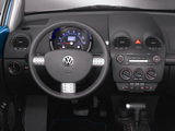 Volkswagen New Beetle Satellite Blue 2004 pictures
