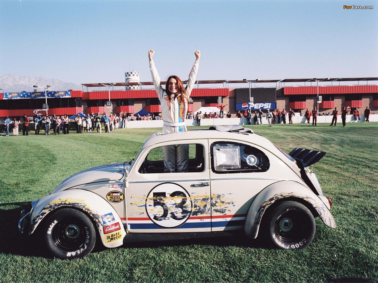 Volkswagen Beetle Herbie 2005 photos (1280 x 960)