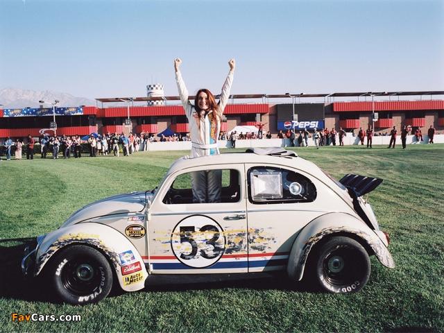 Volkswagen Beetle Herbie 2005 photos (640 x 480)