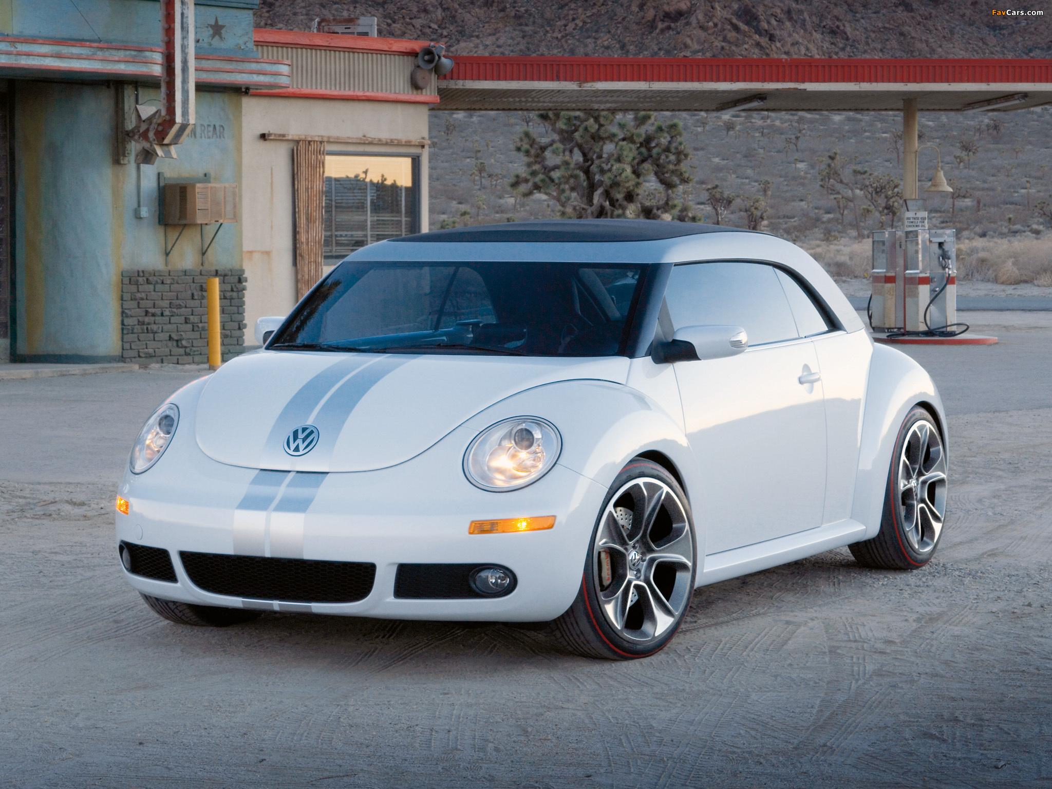 Volkswagen New Beetle Ragster Concept 2005 pictures (2048 x 1536)