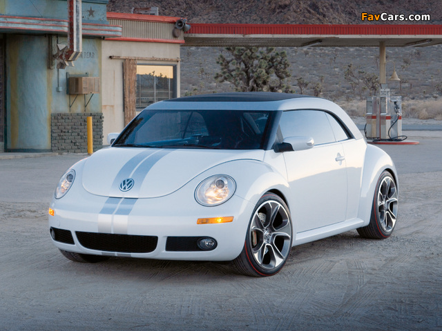 Volkswagen New Beetle Ragster Concept 2005 pictures (640 x 480)