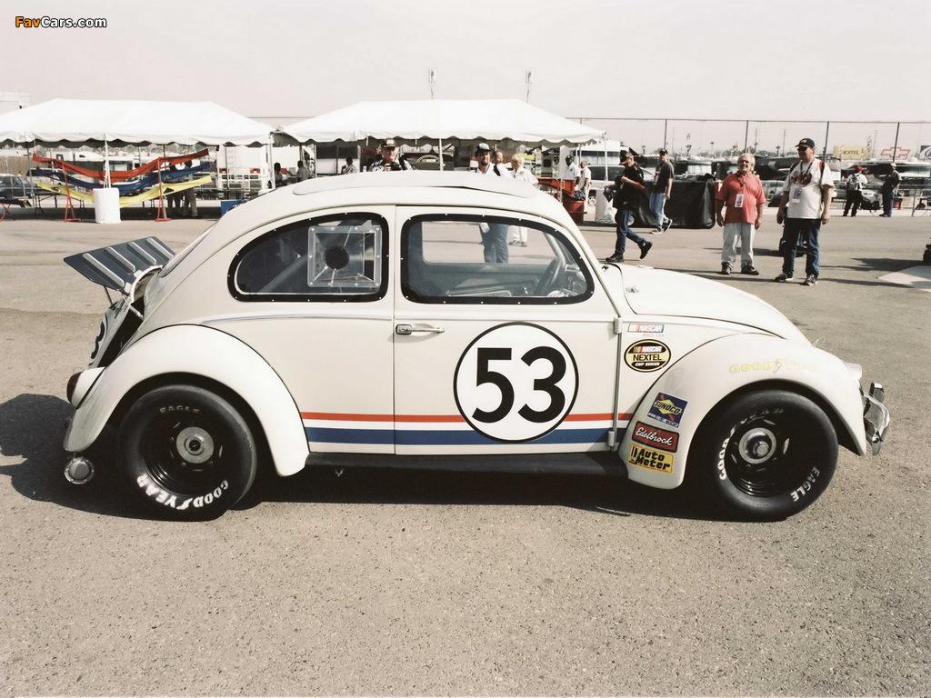 Volkswagen Beetle Herbie 2005 wallpapers (1024 x 768)